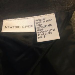 Faux leather Skirt . In Great condition .